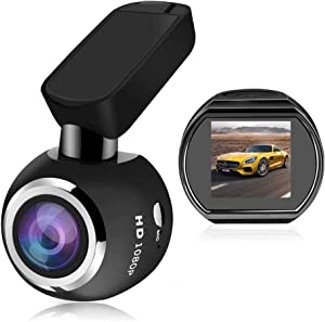 ZCD Dash Cam,HD 1080P FHD DVR Car Driving Recorder 170° Wide Angle, G-Sensor, WDR, Parking Monitor, Loop Recording, Motion Detection