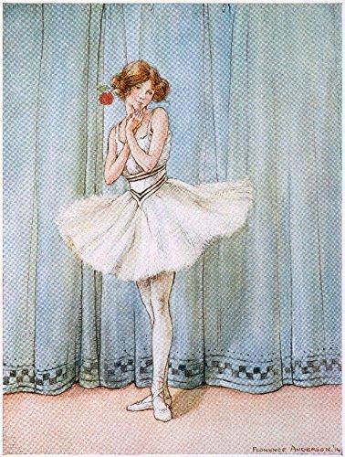 Ballerina - (artist: Anderson c. 1914) - Vintage Advertisement (9x12 Art Print, Wall Decor Travel ()