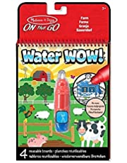 Melissa & Doug- Water Wow on The Go Transportable Bloc de Révélation à l'eau pour Raccorder Les Points, 19232