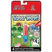 Melissa & Doug Water Wow!® Libro con Dibujos para Conectar los Puntos y Colorear con Agua