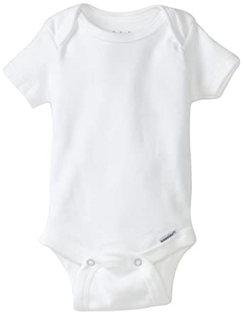 728123318 Gerber Unisex Baby 4 Pack Organic Onesies