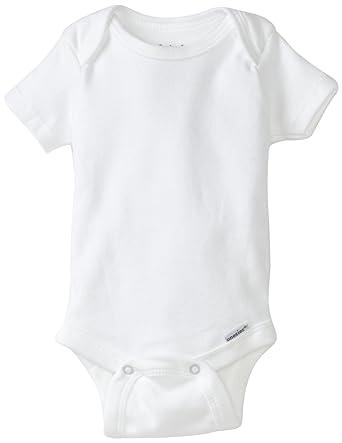 f03d41ff Amazon.com: Gerber Brand 4 Pack Organic Bodysuits Brand, White, 0-3 ...