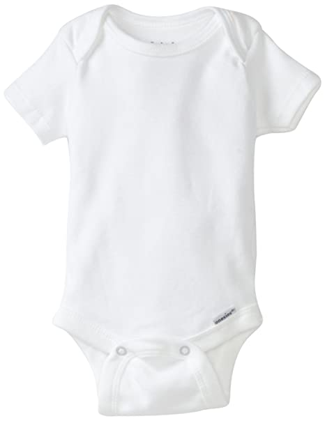 d597197bc Amazon.com: Gerber Brand 4 Pack Organic Bodysuits Brand, White, 0-3 Months:  Infant And Toddler Bodysuits: Clothing