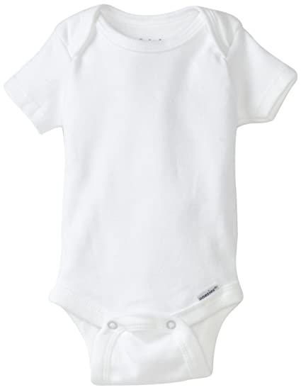 13ec47fdf Amazon.com: Gerber Brand 4 Pack Organic Bodysuits Brand, White, 0-3 Months:  Infant And Toddler Bodysuits: Clothing