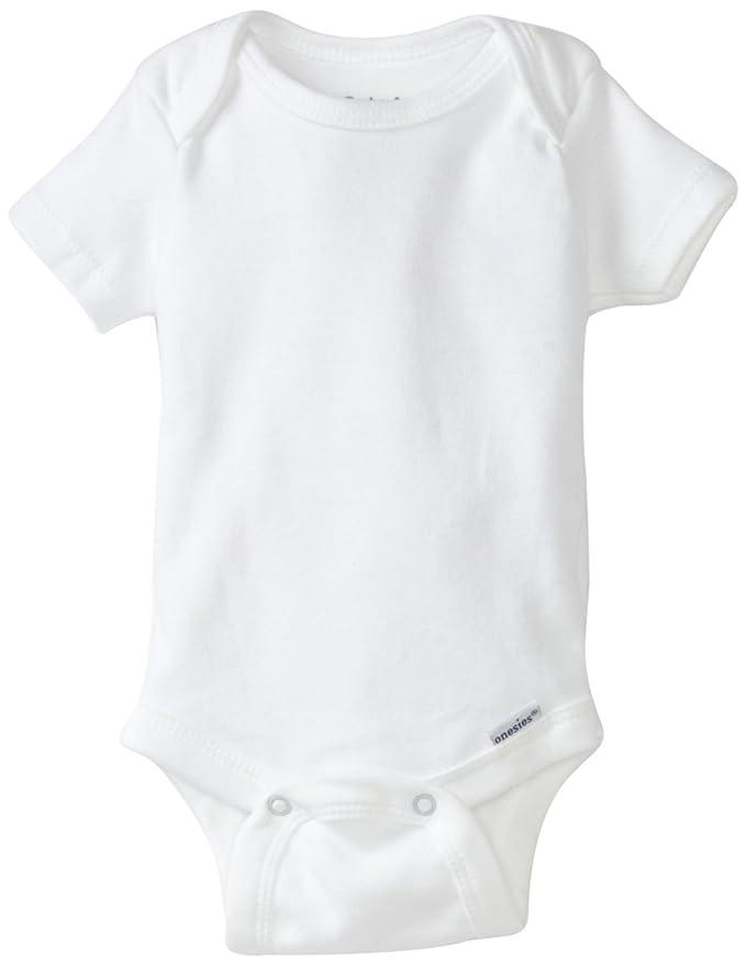 b8e0cc2dc Amazon.com  Gerber Brand 4 Pack Organic Bodysuits Brand