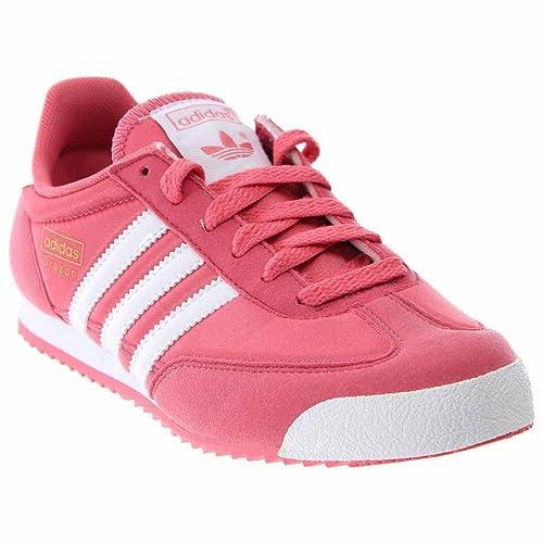 Adidas Zapatillas para niña rosa rosa: Amazon.es: Zapatos