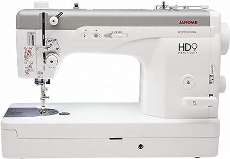 Janome HD9 Professional - Máquina de coser, velocidad rápida y ...