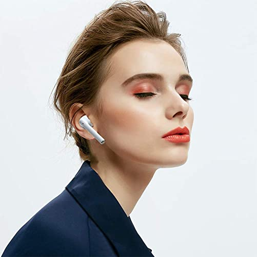 True Wireless Earbuds,Bluetooth Earbuds with 5000mAh Charging Case Auto Pairing Wireless Bluetooth Headphones with Microphone Stereo Bluetooth 5.0 Wireless Earphones Noise Cancelling Wireless Headset