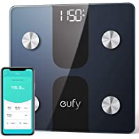 eufy Full-Body Smart Scale C1 with Bluetooth, Large LED Display, Weight/Body Fat/BMI/Fitness Body Composition Analysis…