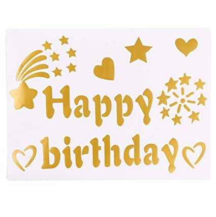 Amazon Com Eanjia Vinyl Letter Sticker For Balloon Decor Suitable