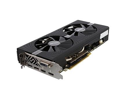 Amazon.com: Sapphire Radeon Nitro + RX 570 8 GB GDDR5 PCI-E ...