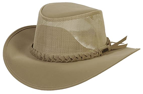 ecc2e5a6 Image Unavailable. Image not available for. Color: Conner Hats Men's Aussie  Golf Soakable Mesh ...