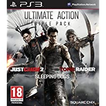 Ultimate Action Triple Pack - Just Cause 2/Sleeping Dogs/Tomb Raider (PS3)