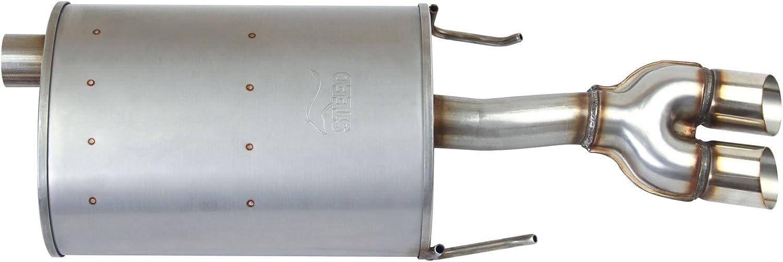 1pc Passenger Side SS Quiet-Flow Muffler Exhaust For 03-08 Grand Prix 3.8L