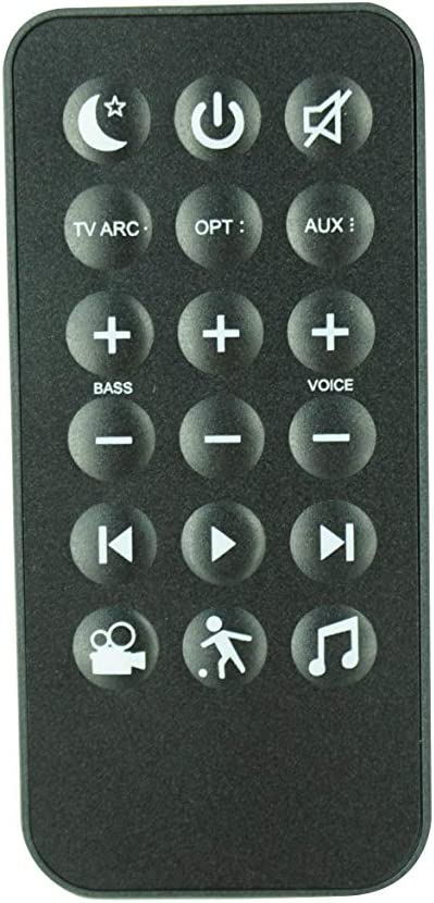 HCDZ Replacement Remote Control for Polk Audio RE9114-1 Magnifi Mini Home Theater Sound bar System