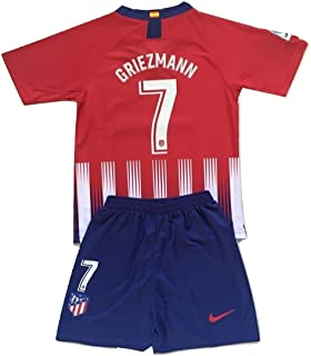 a0ccf8c33 Anelia-Jerseys Griezmann  7 Atletico Madrid 2018-2019 Youths Home Jersey    Shorts