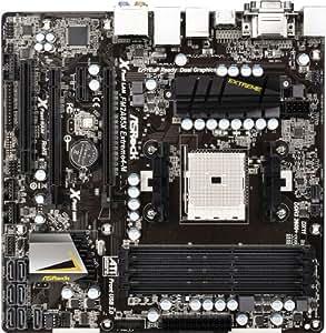 Asrock FM2A85X Extreme4-M - Placa base (DDR3-SDRAM, DIMM, dual, AMD, AMD A, Socket FM2)