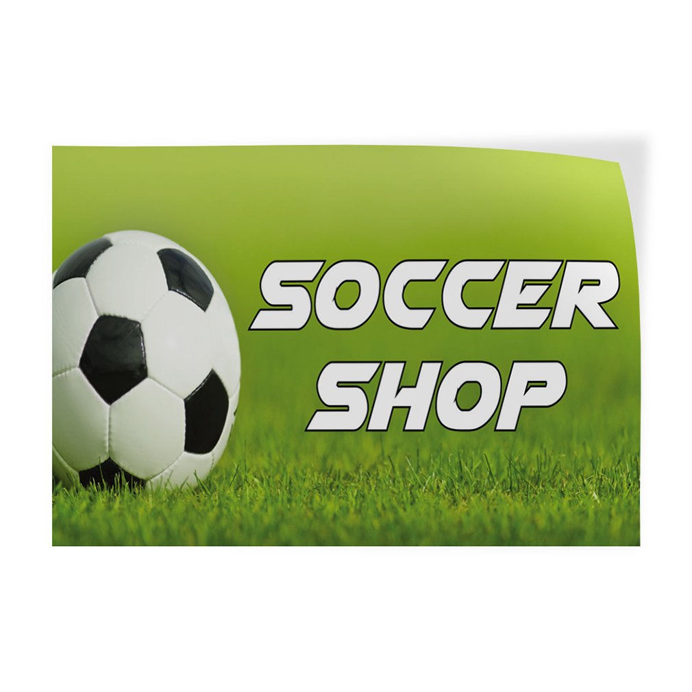 69inx46in One Sticker Decal Sticker Multiple Sizes Soccer Shop Sports Soccer Shop Outdoor Store Sign Lavender