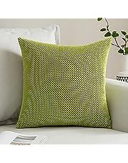 MIULEE Corduroy Granule Stof Vierkante Kussensloop Solid Kussensloop Sham Home voor Sofa Stoel Bank Slaapkamer Decoratieve Kussenslopen
