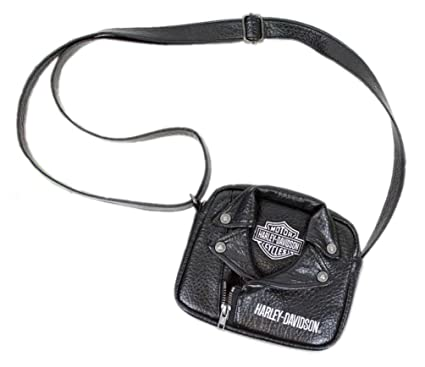 73e21d9521f5 Image Unavailable. Image not available for. Color  Harley-Davidson Little  Girls  PU Biker Jacket Style Crossbody Bag
