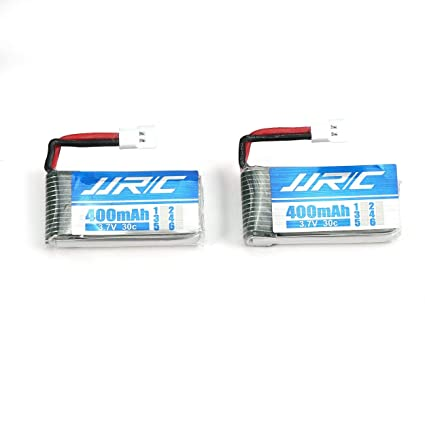 2pcs Original 3.7V 400mAh 30C Lipo Battery for JJRC H31 Drone RC Quadcopter @~