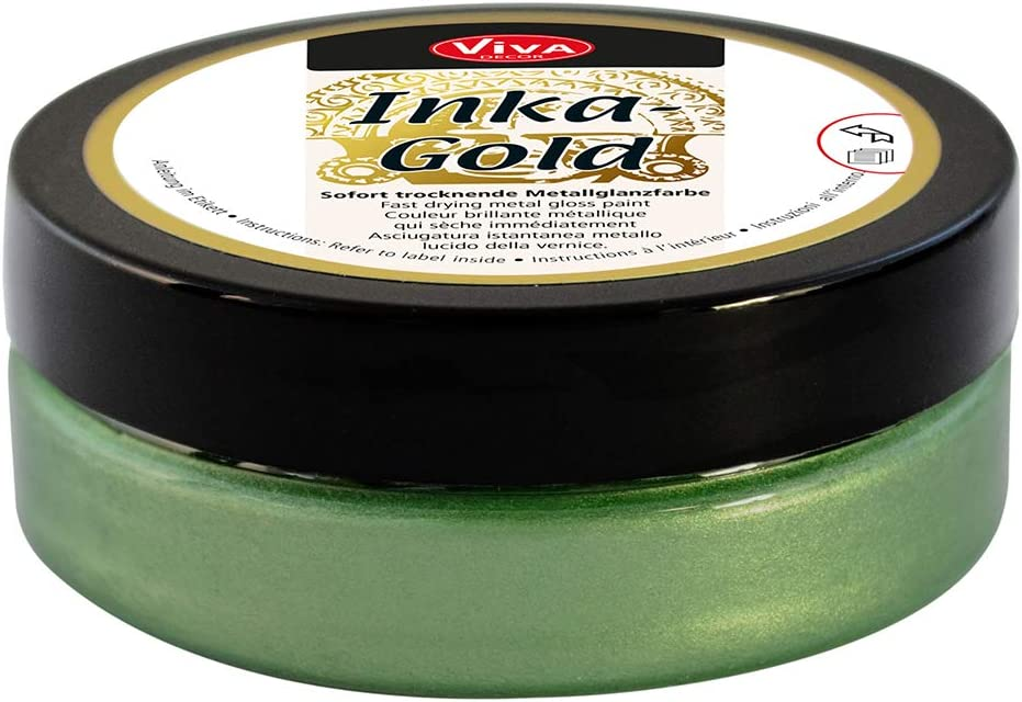 Viva Decor VD1204-92836 Inka Gold Paint, 62.5gm, Jade