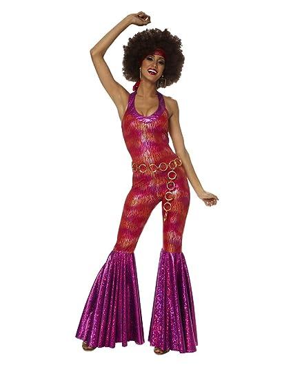 Horror-Shop Foxy Lady Traje 70s S / 36: Amazon.es: Juguetes ...