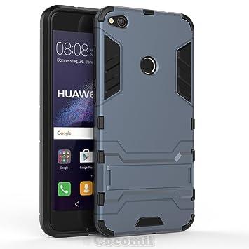 Cocomii Iron Man Armor Huawei P8 Lite 2017/P9 Lite 2017/Honor 8 Lite/Nova Lite/GR3 2017 Funda Nuevo [Robusto] Táctico Soporte [Ejército Defensor] Case ...