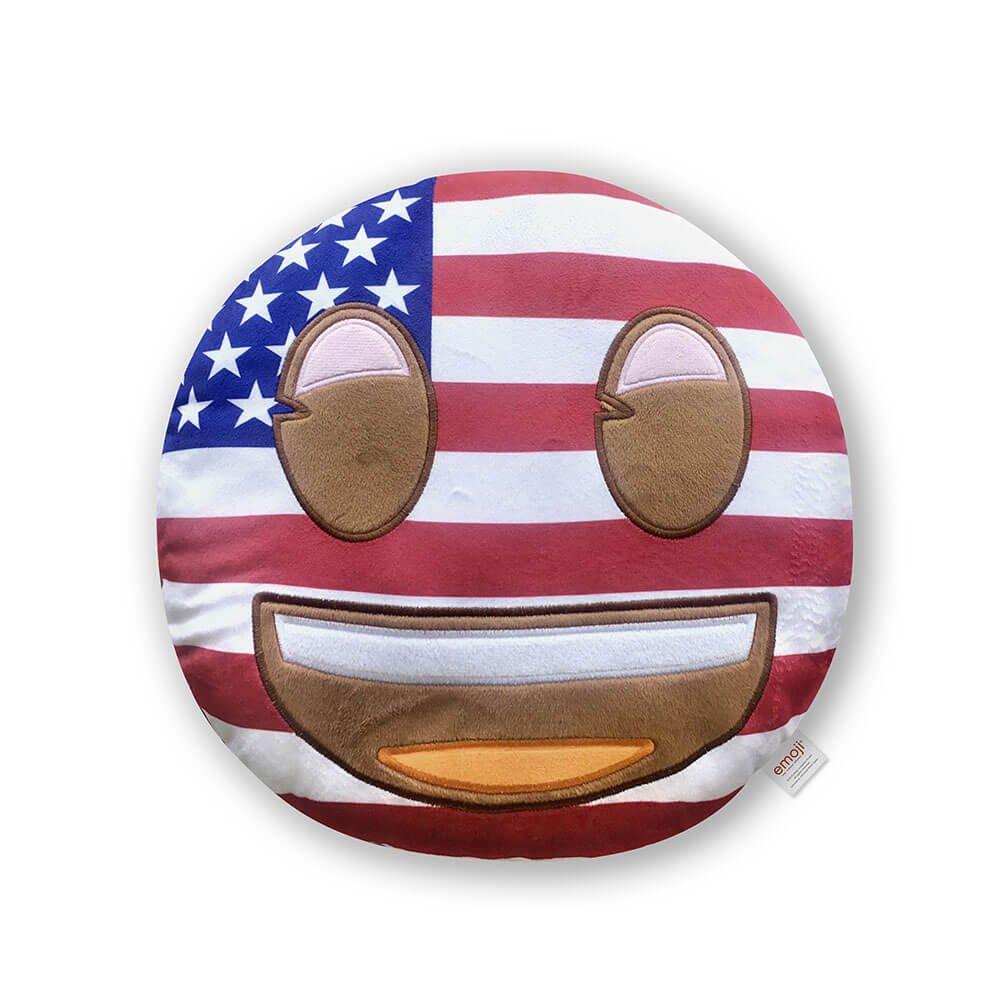 Emoji Visage Coussin Visage Citrouille Officielle (PIW _ Pumpkin _ Face _ eb) PIW_PUMPKIN_FACE_EB