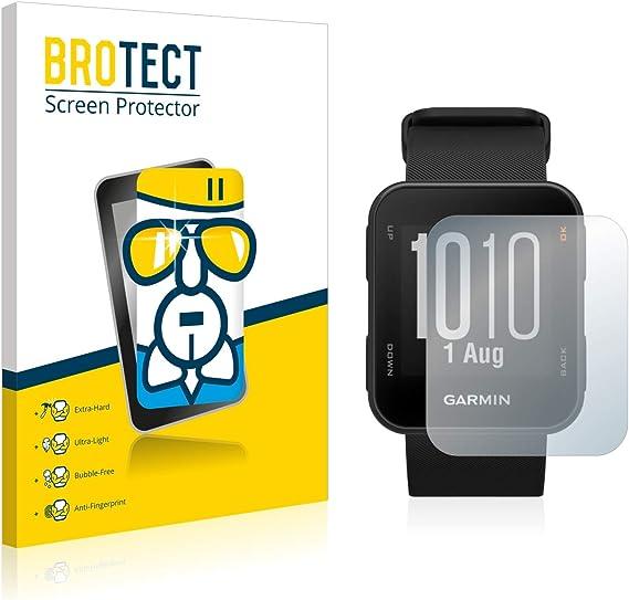 BROTECT Panzerglas Schutzfolie kompatibel mit Garmin Edge 530 9H H/ärte Anti-Fingerprint AirGlass HD-Clear