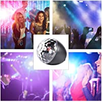 Coaste 9W Disco Ball Light, Bluetooth Disco Light, Party Light with Remote Control,16 Light Modes Strobe Lights with 8 Dimming Modes for Parties,Holidays,Weeding and Kids' Room(Built in Beautiful
