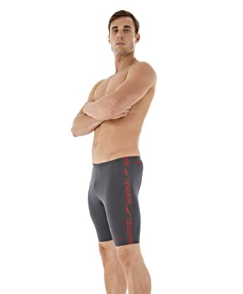 b15561050c Speedo Superiority Mens Jammers (Size 38) Grey: Amazon.co.uk: Clothing
