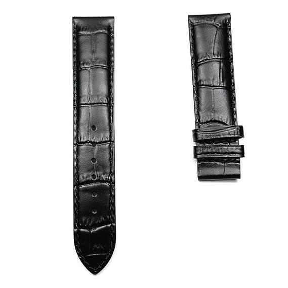 Correa Piel Negra para Relojes Tissot Le Locle automáticos T610014581: Amazon.es: Relojes