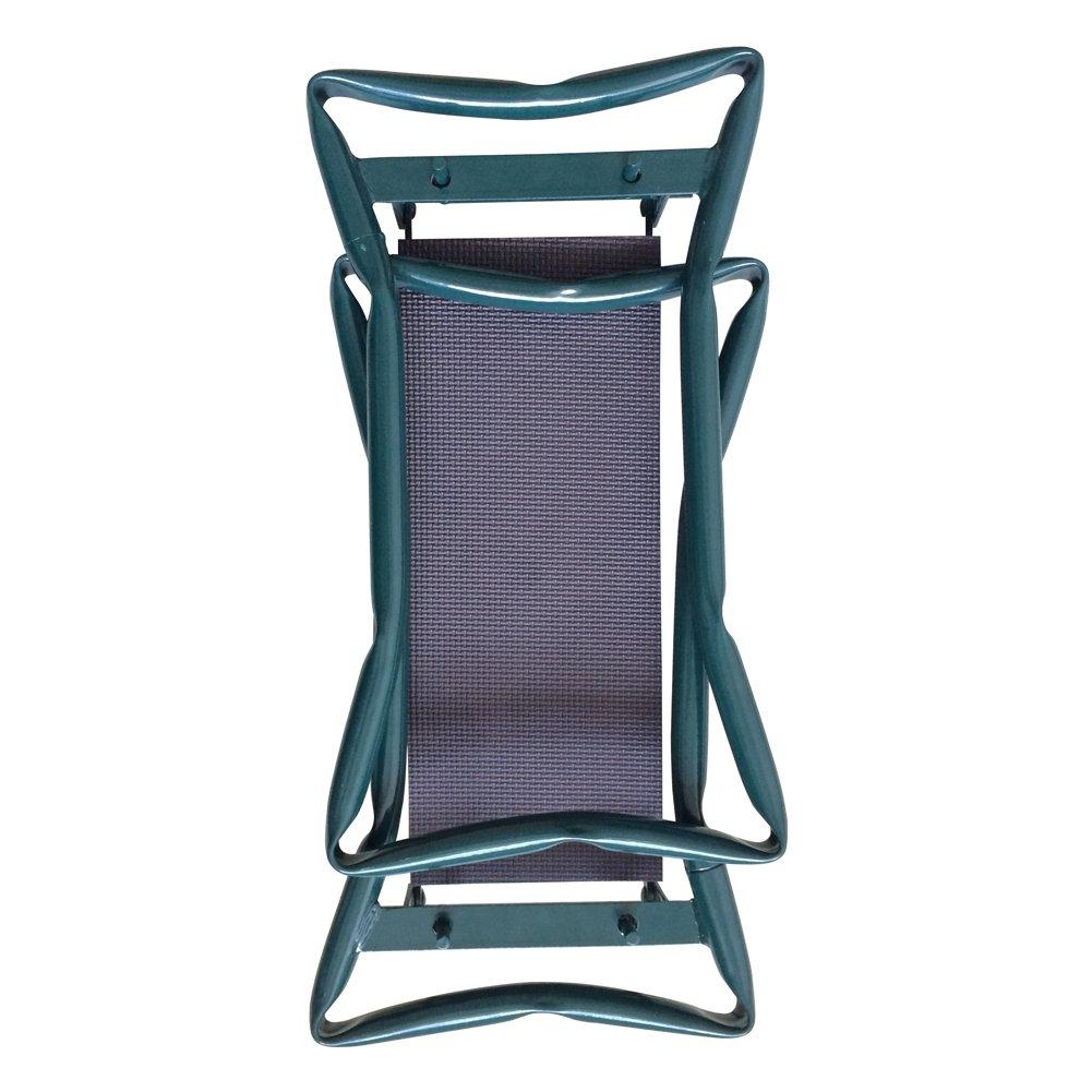 Klappbar Kniebank Gartenbank Komfortable Sitzunterlage aus Schaumkissen