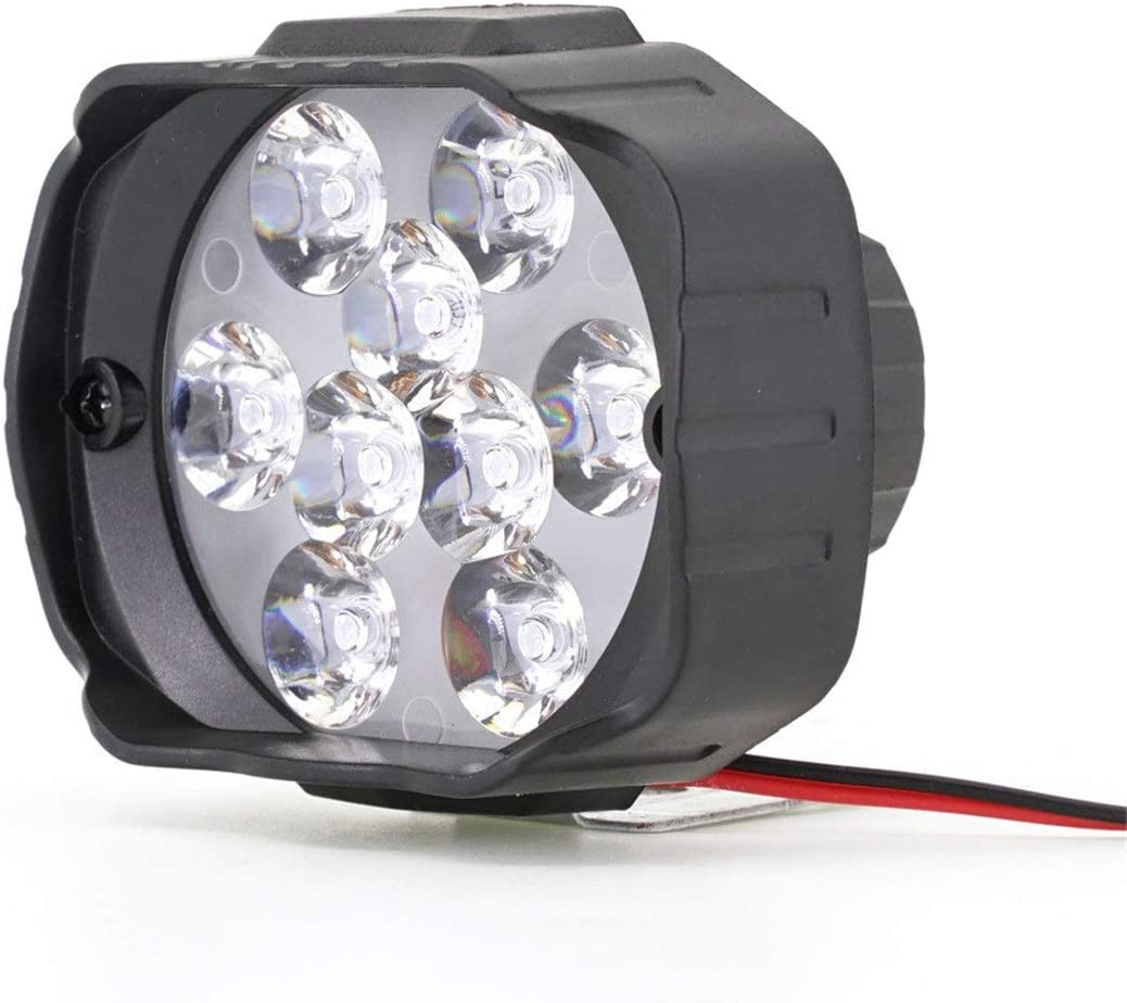 No logo ZWJ-JJ 12v Coche eléctrico externos Triciclo LED del Panel Frontal Faros Modificado Externa LED Brillante Campo a través Impermeable Turn Accesorios de Señal