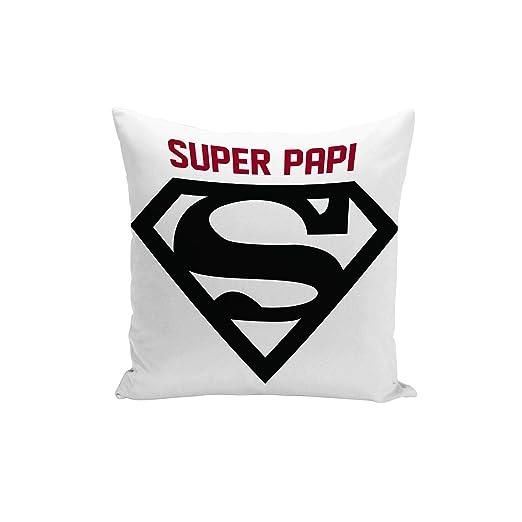 Fabulous Funda de Cojín Logotipo de Super Papi Rojo Super ...