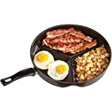 Amazon Com Master Pan Non Stick Divided Grill Fry Oven