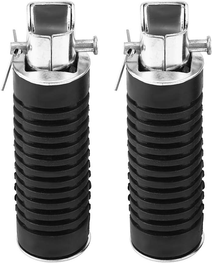 Nikou Motorrad-Fu/ßrasten Paar Motorrad-Fu/ßst/ützen-Fu/ßrastenpedale mit hoher Festigkeit f/ür Hon-da CB125S CB100 CG125