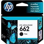 HP CZ103AB, Cartucho de Tinta 662, Preto