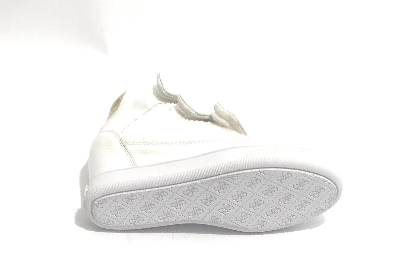 Qzpguvsm Guess Femme Blanc Biancochaussures Pour Foscabaskets SMUVpqz