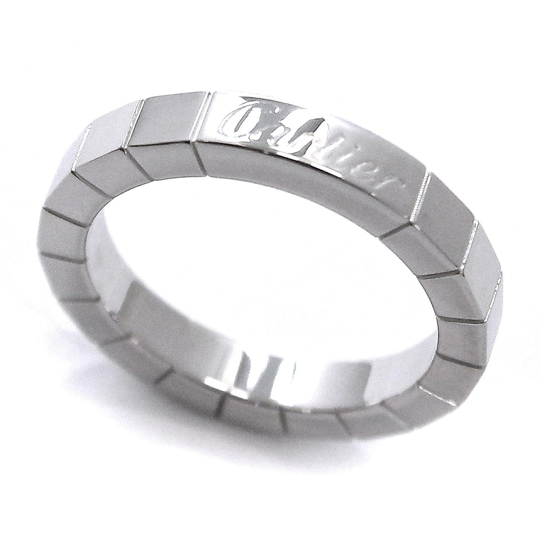 カルティエ Cartier ラニエール リング #48 K18WG 18金ホワイトゴールド 750 指輪 【中古】 90050288 B07F7XJNKQ