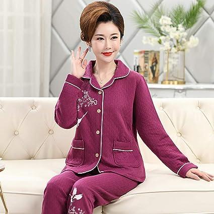 B/H Pijama de Polar Supersuave cálido Estampado,Pijamas de ...