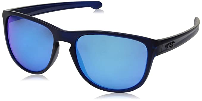 934209 Oakley Occhiali Sole Uomo 57 translucent Blu Da R Sliver Ewnnqp4B