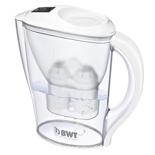 89 opinioni per BWT 815971 Initium Caraffa Filtrante per Acqua, 2.5 lt, Bianco