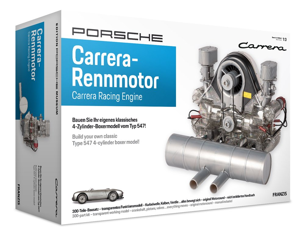 Franzis PFF018 Haynes Porsche Carrera Engine Kit