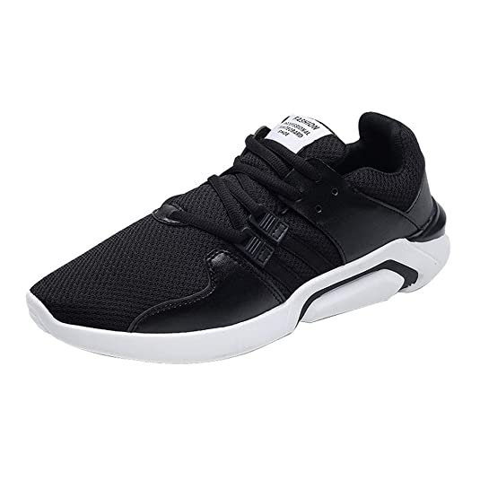 Logobeing Zapato Deportivo Hombre Outlet Playeras Padel Trail Zapatillas Sneakers Calzado Deportivo Caminar Cordones Zapatos para Correr: Amazon.es: Zapatos ...