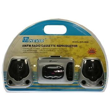Radio Cassette con Altavoces Nvr-288-M