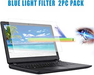 "[2PC Pack] 11.6 inch Blue Light Filter Laptop Screen Protector, Blue Light Blocking HD Screen Protector for Notebook Computer Screen 11.6"" Display 16:9 Aspect Ratio"