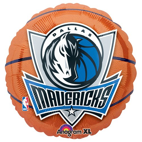 Anagram International Dallas Mavericks Flat Party Balloons, 18