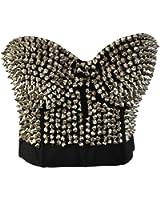 "Waooh - Mode - Mini corset clouté ""Adjani"""